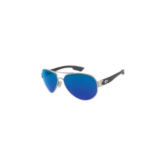 55ba5683e0 Costa Del Mar Sunglasses South Point Glass   Frame Palladium Lens Polarized  Blue Mirror 580 Glass