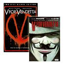 V For Vendetta (2 Disc Deluxe Edition with Comic) [DVD]