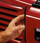 Style Guard Deluxe Door Edge Molding (Black)