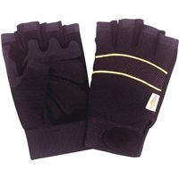 SoundbestIntSourcingProducts Glove Leather Fingerless Med, Sold as 1 Pair