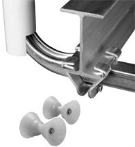 Trailer and Boat Lift I-Beam Clamp Kit For Boat Guides