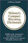 Webster's Compact Rhyming Dictionary (0877791856) by Merriam-Webster