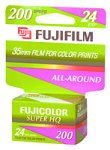Fujifilm 200 Speed 35mm Color Print Film (24 Exposures)