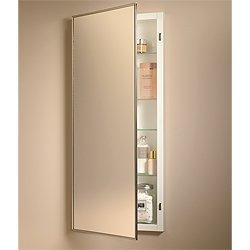 Jensen 461P24CH Federal Spec Medicine Cabinet, Stainless Steel, 18-Inch by 26-Inch