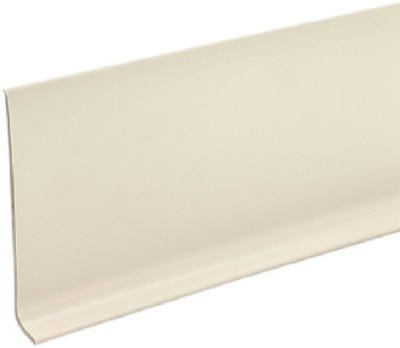 "M D BUILDING PRODUCTS 4"" x 080"" x 4' Vinyl Cove Wall Base Dry Back from M D BUILDING PRODUCTS"