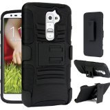Maxboost LG G2 Case - Premium Protective Holster Case for LG Optimus G2 with Build-In Kickstand Belt Clip (A.K.A LG Optimus G2 Case / LG Optimus G2 Holster Case / LG Optimus G2 Belt Clip / LG Optimus G2 Stand Case )