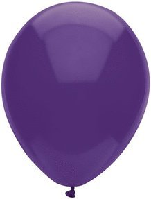 "PIONEER BALLOON COMPANY Latex Balloon, 11"", Regal Purple - 1"