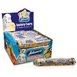 10 Johnsons honey bars for budgies