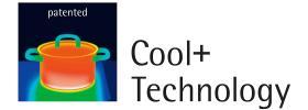 WMF mát + công nghệ - tay cầm không nhận được nóng khi nấu ăn