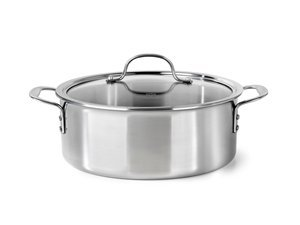 Calphalon 5-qt. Tri-Ply Stainless Steel Dutch Oven, Stainless Steel