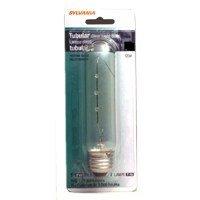 Sylvania 18712 60-Watt Clear Tubular Incandescent T10 Bulb
