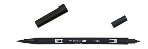 tombow-abt-n15-rotulador-permanente-doble-1-unidad-color-negro