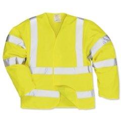 Portwest-High-Visibility-Jerkin-Jacket-Polyester-Medium-Yellow-Ref-C473MED