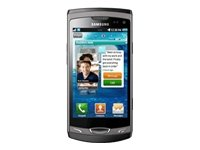 Samsung S8530 WAVE II Unlocked QuadBand GSM SmartPhone with 5 MP Camera, GPS, and MicroSD Slot - No Warranty - Ebony Gray