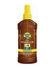 tan with sunscreen Discount Banana Boat Dark Tanning Oil Spray SPF 4 Sunscreen, 8 oz