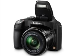 Panasonic Lumix DMC-FZ70 Digital Camera, 60x Optical Zoom, 16MP (Black) +4GB SDHC Card