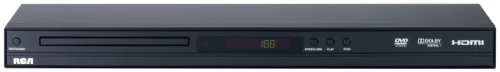 RCA DRC279RE DVD Player with HDMI Output