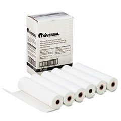 Universal Economical Ultra-Sensitive Thermal Fax Paper, 8-1/2in x 98' Roll 6/ctn (35758)