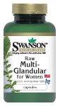 Raw Multi-Glandular For Women 60 Caps
