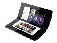 Sony Tablet SGPT212DE (NVIDIA Tegra2, 1GHz, 1GB RAM, 4GB, WLAN, HSUPA, Android 3.1) Black and Silver - German Import