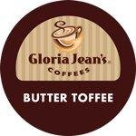 Gloria Jean's Butter Toffee 96 Count K-Cups