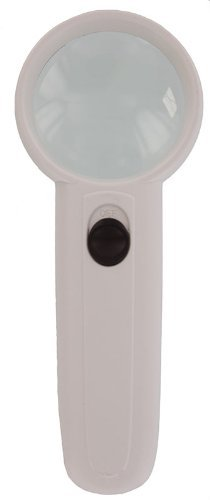 "MD748L 2"" Handheld Lighted Magnifying Glass 3.5x"