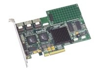 Promise Supertrak Ex12350 12-Port Native Pcie Sata 3Gb S Raid Controller 5Pk