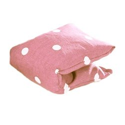 Eye Zone Circles Relaxer-Dotty Pink Eye Pillow