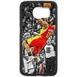 Houston Rockets 1 Custom Phone Case Design for Samsung Galaxy S6 covers with Balck Laser Technology