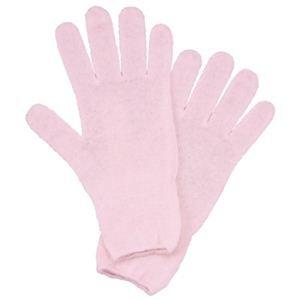 シルク スリーピング手袋 ピンク