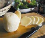 イタリア生まれのひょうたん型チーズ!かまぼこのような弾力がクセになる♪『スカモルツァ・ビアンキ』