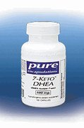 Pure Encapsulations 7-Keto DHEA 100 mg - 120 capsules