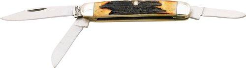 Bear & Son Stockman Stag Bone. front-594126