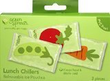 Green Sprouts Lunch Chillers, Garden, 3 PK