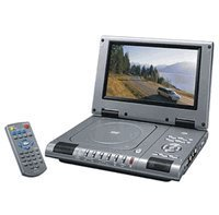 Durabrand 9 Inch Portable DVD Player with Remote