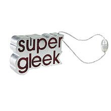 "Glee ""Super Gleek"" Charm Flashing Flair Attach Anywhere - 1"