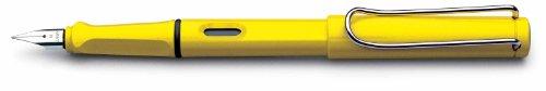 LAMY サファリ イエロー 万年筆(EF) スチールペン先 L18-EF 〔正規輸入品〕