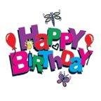 ハッピーバースデイ 誕生日を祝うタトゥーシール