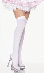 [Charades Costumes - Tear Drop Lace Petticoat White, White,] (Lil Bo Peep Adult Costumes)