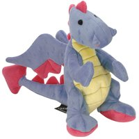 'Go Dog Baby Dragon Toy – Periwinkle with Chew Guard'