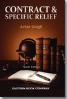 Law of Contract and Specific Relief (8170121450) by Singh, Avtar
