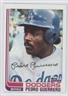 Pedro Guerrero Los Angeles Dodgers (Baseball Card) 1982 Topps #247