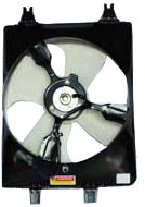 TYC 610410 Honda Odyssey Replacement Condenser Cooling Fan Assembly from TYC
