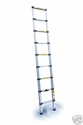 2.6M TELESCOPIC EXTENDABLE EXTENSION MULTI PURPOSE STEP LADDER