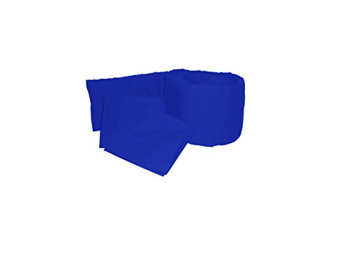 Baby Doll Solid Colors Grandmas Port-a-Crib Package, Royal Blue