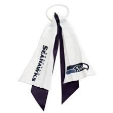 NFL Officially Licensed Ponytail Holder (Seattle Seahawks) at Amazon.com
