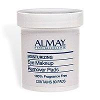 Imagen de Almay Hidratante Eye Pads removedor de maquillaje, 80-Pads