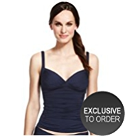 M&S Collection Ruched Tankini Top