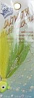 Saltwater Flash'n Bucktail 1/2oz Lime/Chartreuse