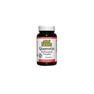Natural Factors Quercetin Bioflavonoid 235 mg Capsules, 90-Count